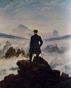 Friedrich - Viandante sul mare di nebbia
